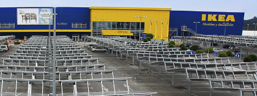 Parking Fotovoltaico Ikea Málaga